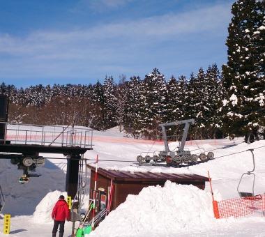 羽黒山スキー場 明日OPEN
