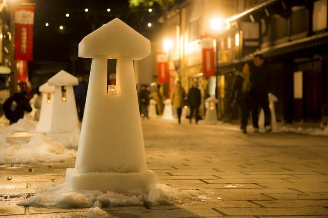 今年も冬のおおのの町が幻想的な光で包まれる!?