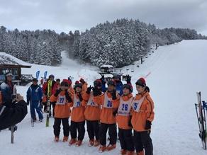 気温差20℃以上!! 別世界でのスキー体験☆