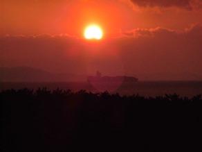 満天テラスで夕日を見よう!
