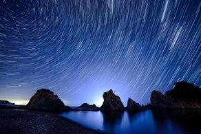 休暇村で出会う、満点の星空と流れ星