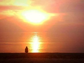 五色浜で最高の夕日を!