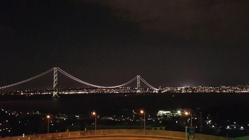 明石海峡大橋が見える淡路SAでデートいかがでしょうか
