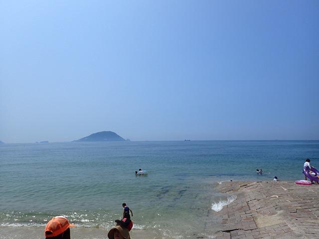 平日はまるでプライベートビーチ!