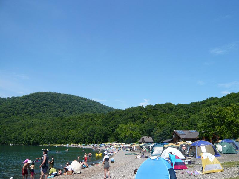 休暇村支笏湖モラップキャンプ場の混雑状況について