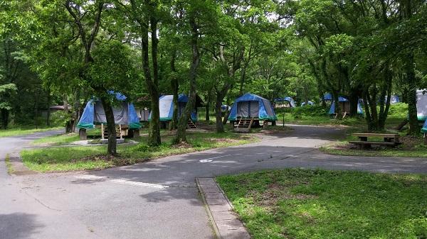 キャンプ場を紹介します!!