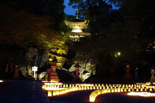 石山寺の秋月祭