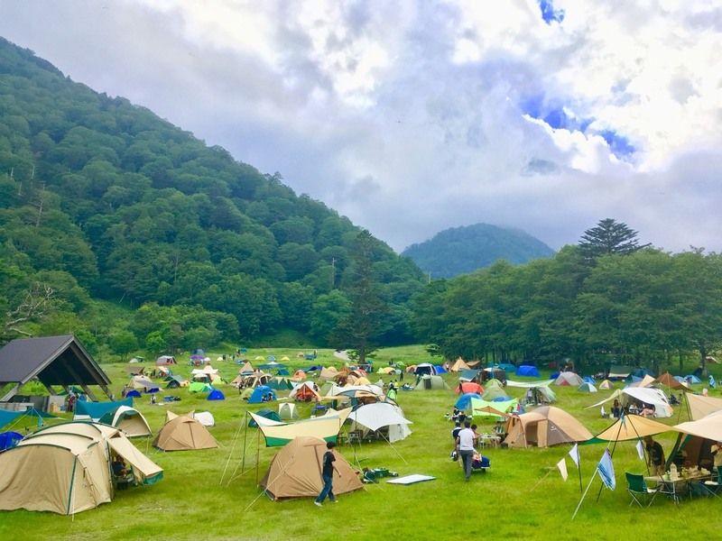 キャンプ場がご利用できるのは10月まで!