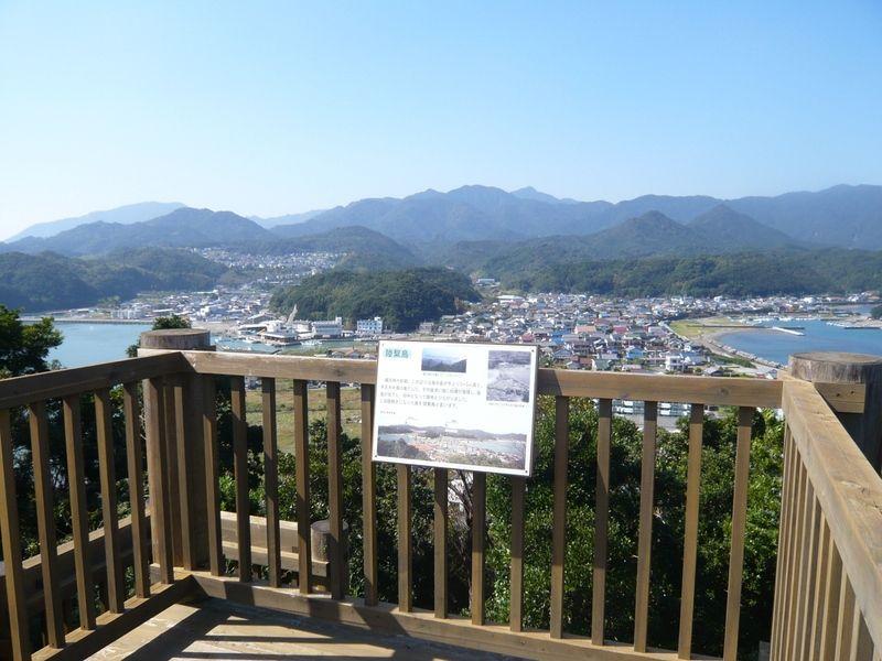 上野展望台から見える景色♪