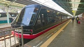 伊豆への旅行は観光列車「リゾート21黒船電車」で