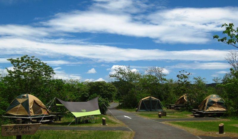 キャンプ場は2020年4月25日からOPENします。