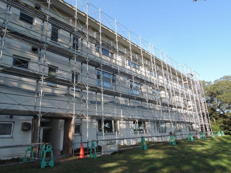 屋根・外壁補修工事日程について