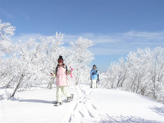 冬の楽しみ!~スノーシュー編~おか春アクティブ⑲