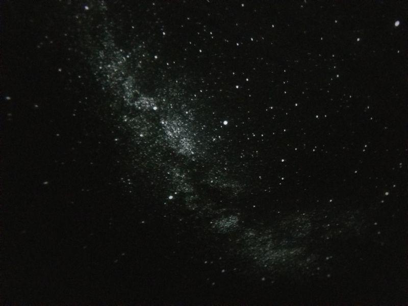 満点の星空の正体・・・?