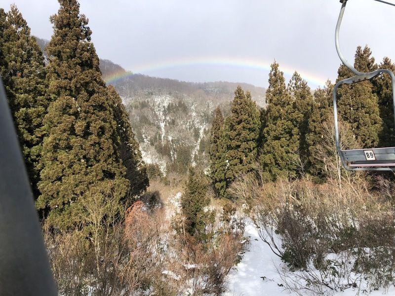 令和元年最後の日 虹が出た