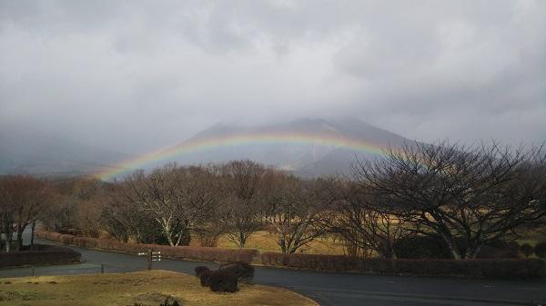 雨上がりの虹のように...
