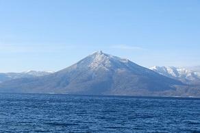 支笏三山の一つ 恵庭岳