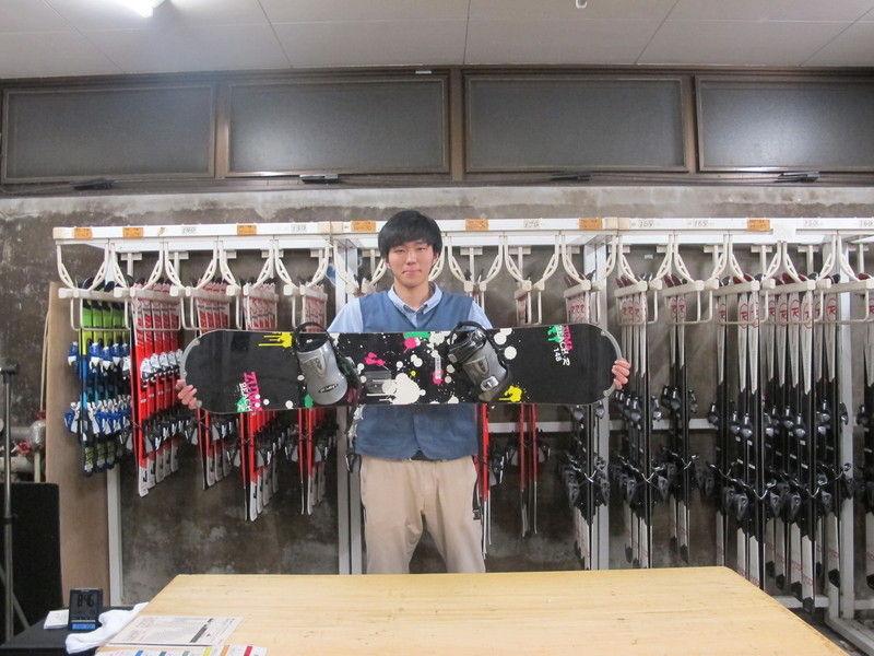 レンタルスキーご用意しております。