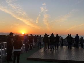 夕日・朝日が眺めるプログラムのご案内