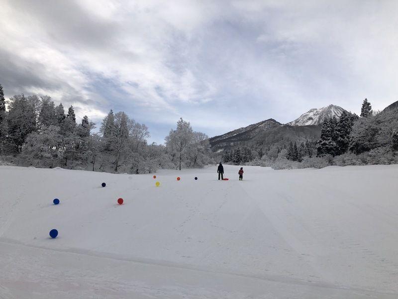 ◆お知らせ◆ 明日はスキー子供の日