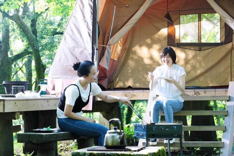いよいよ28日よりキャンプ場が営業いたします。