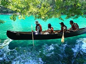 支笏湖で体験カヌーツーリングを楽しもう!