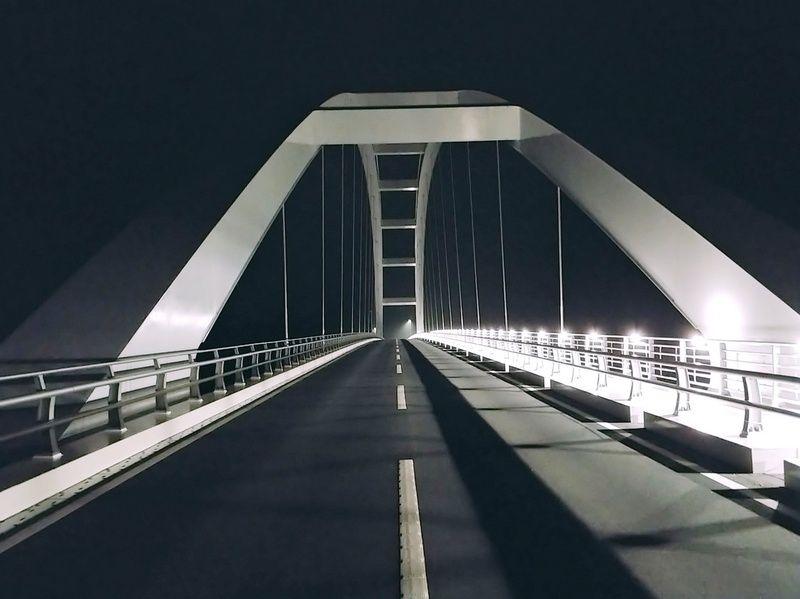 夜の大島大橋歩いてみた!!!
