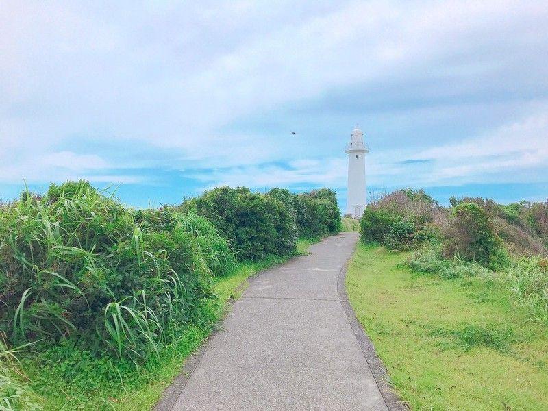 初夏の爪木崎~灯台とトップオブジオ
