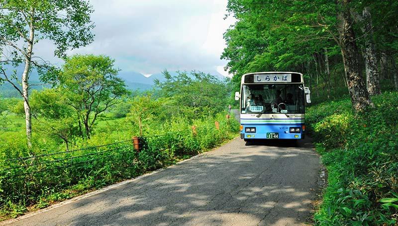 奥日光低公害バス運行開始のお知らせ
