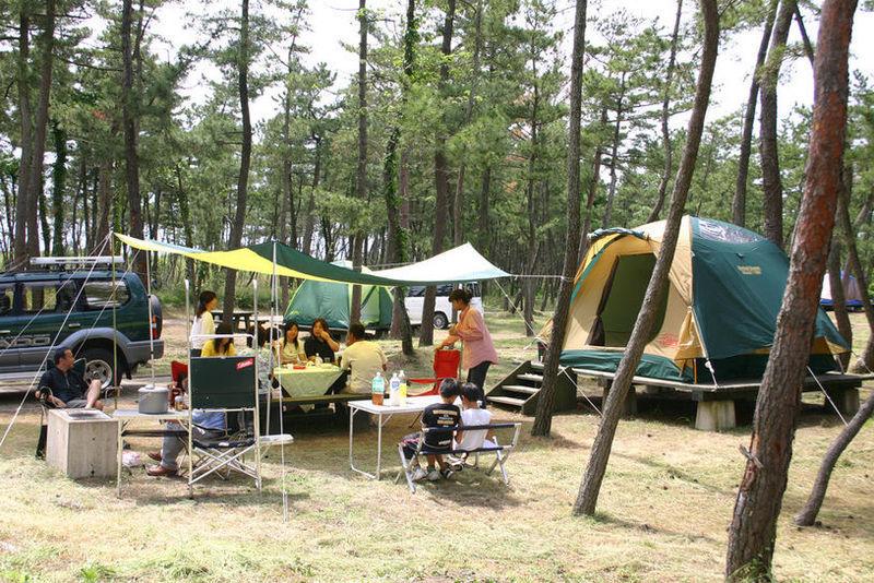 夏休みは楽しくキャンプ!