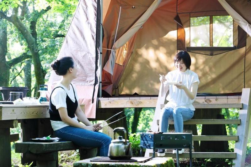 夏のキャンプ場ご予約受付中です。