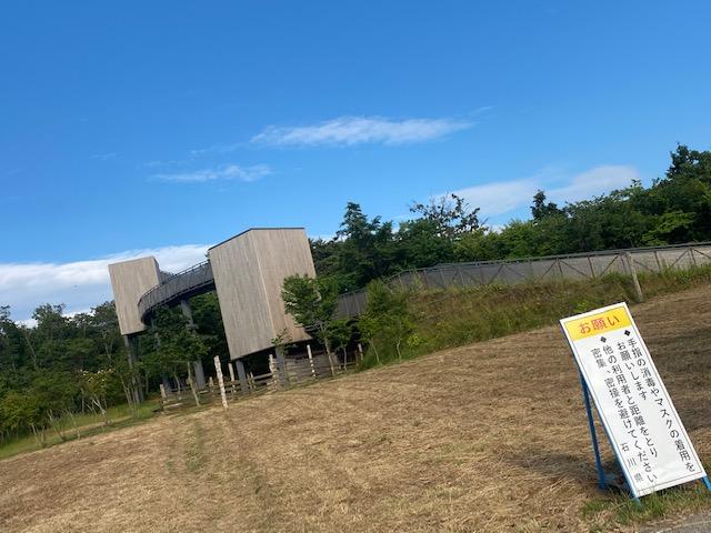 七尾湾を一望できる展望台~能登ゆめてらす