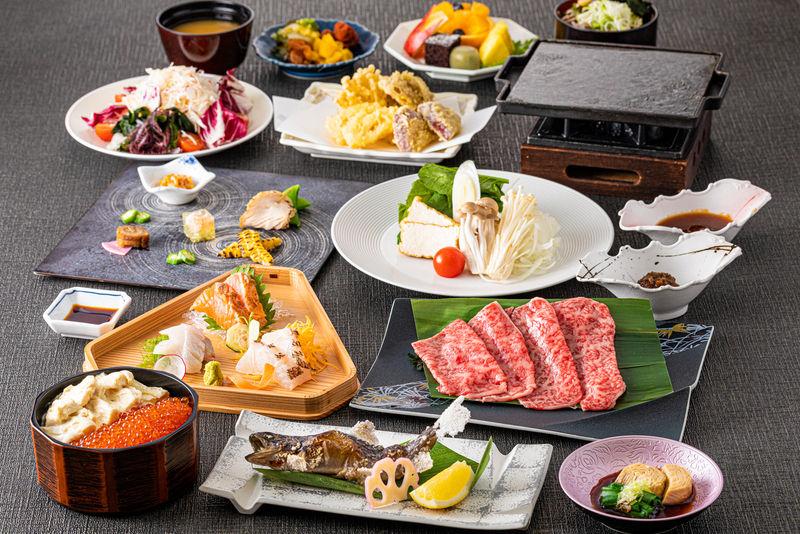 夏のおすすめ料理コース