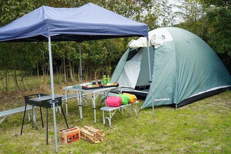台風10号接近に伴うキャンプ場の営業中止について