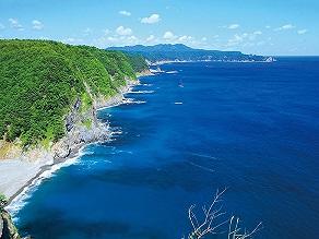 リアス式海岸を一望!!