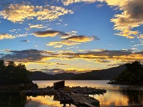 裏磐梯最大の湖 『桧原湖』を眺めながら散策路を行く!