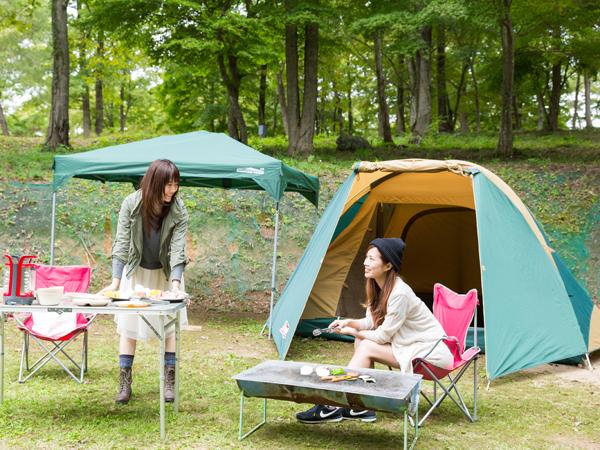 秋はキャンプ!!!