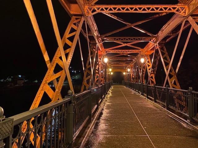 タイムスリップ 支笏湖の山線鉄橋