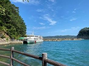 浄土ヶ浜遊覧船!!