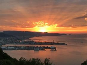 香川県が誇る夕日スポットの1つ 屋島