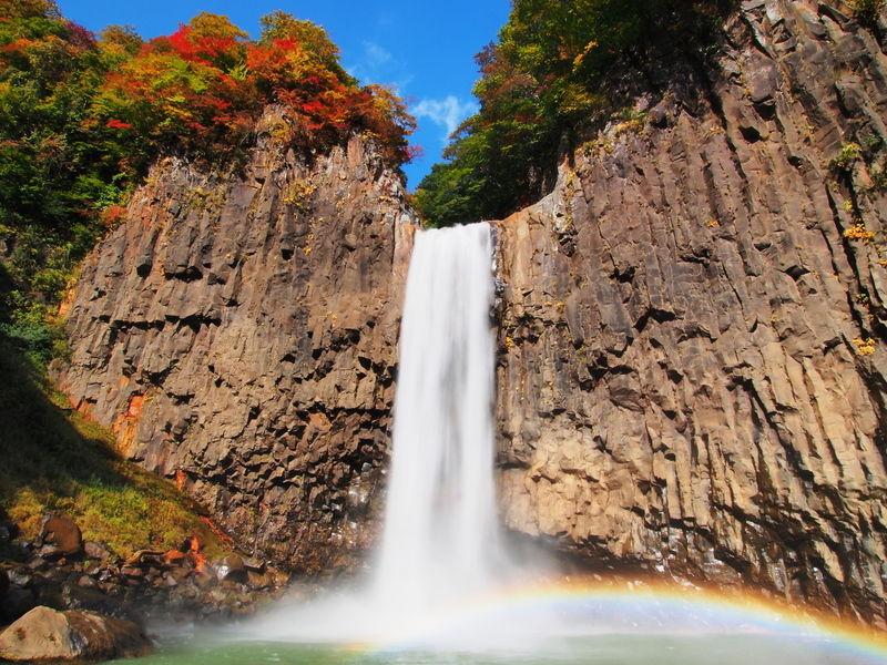 オータムインMyoukou!秋の苗名滝♪