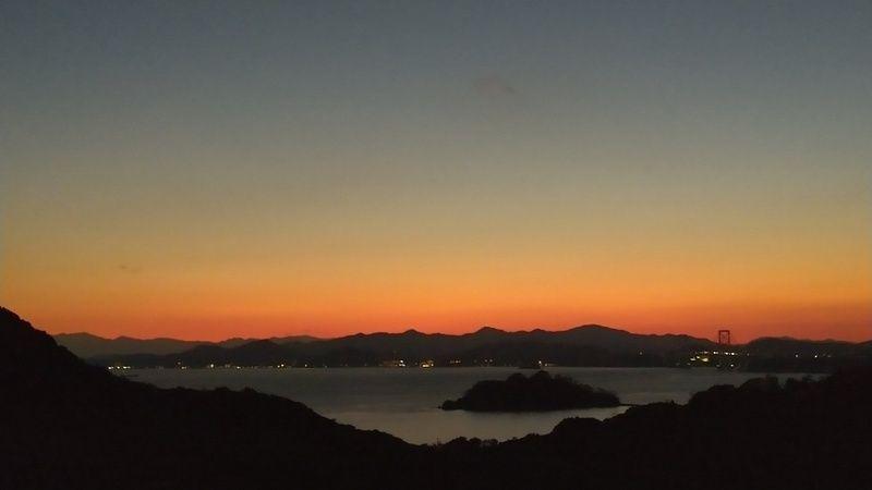 私の好きな夕焼け空
