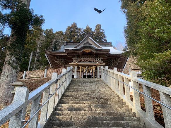 大島神社でおみくじ