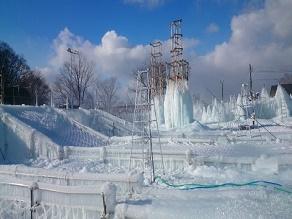 氷濤体験~期間限定のアイスワールド~
