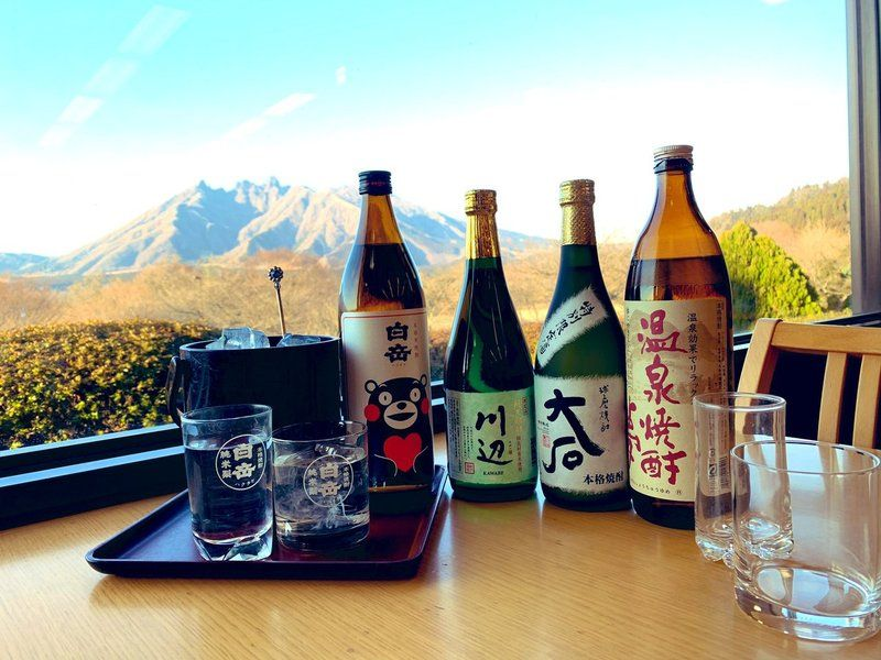 熊本でのお楽しみ「球磨焼酎」♪