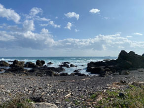 プチハイキング【地玉(じごく)の浜】