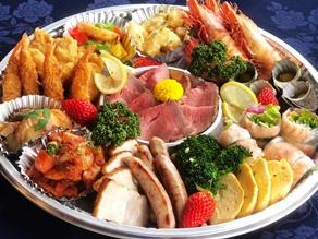 ホテル特製 オードブル・握り寿司の宅配 承ります!