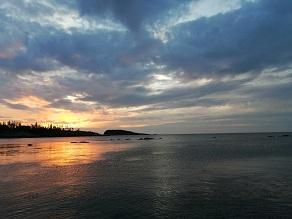 静寂に包まれた日本海
