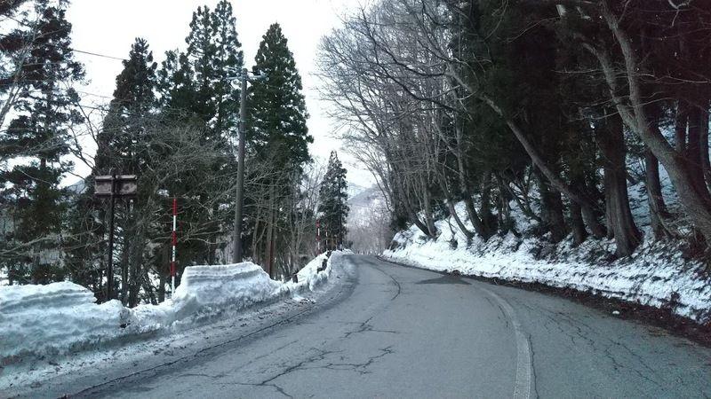冬の桧原湖を一周するの巻