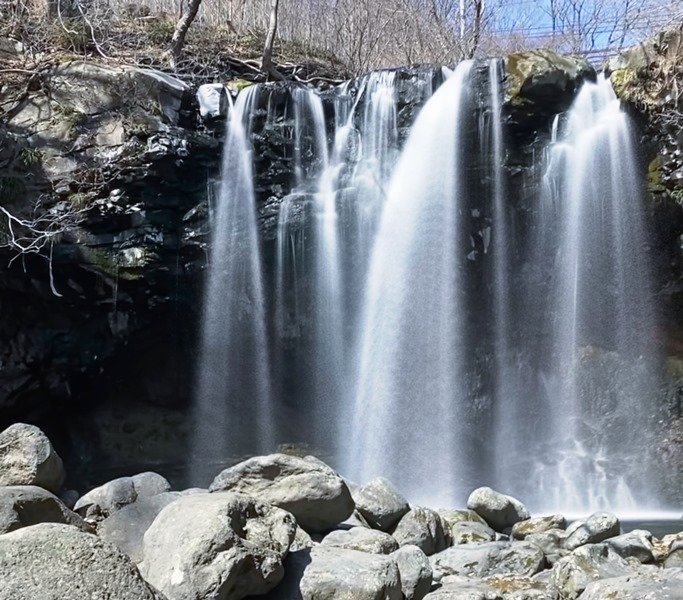 涼しさを求めて「乙女の滝」へ